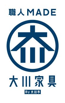 大川家具ロゴ