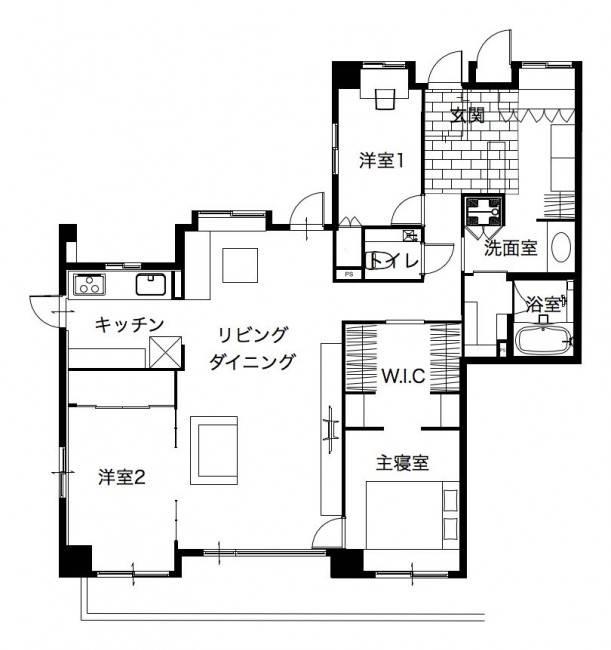 ■独立型キッチン