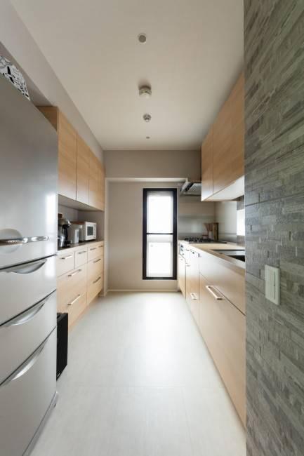 独立型キッチン1