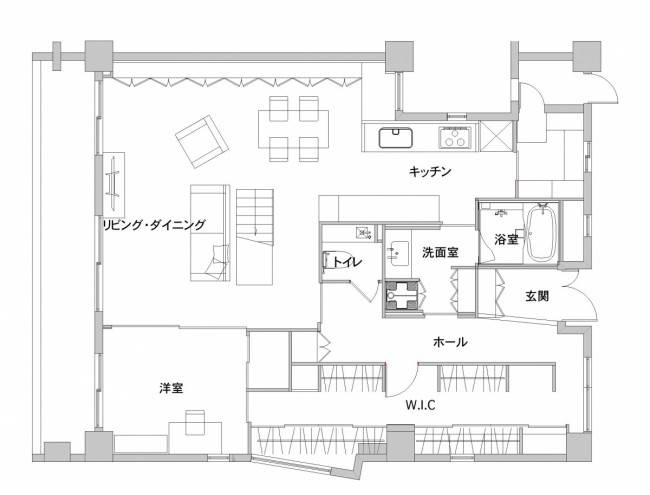 ■壁付けキッチン