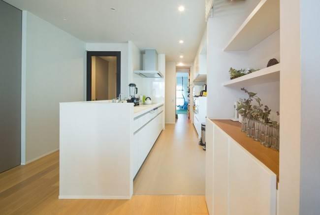半オープン型キッチン3
